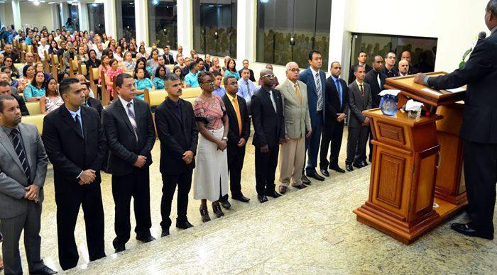 Apresentação da Junta da igreja local para 2018